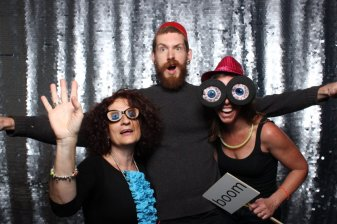 With Automattic coworkers at company annual meeting