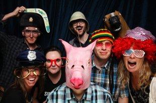 Automatticians: Jereme, me, Diana, Mindy (pig), Simon, Sandy, Joe (horse), Allyson