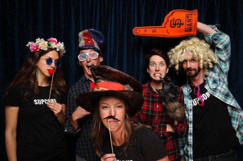 My SUPCONF mentee group: Nykki, Jeremey, me, Mireille, Bill 2016