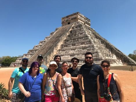 My Automattic team in Mexico 2017